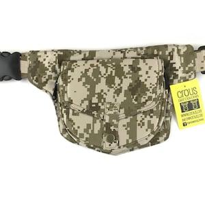 Adjustable strap Holster bag Fanny PackShoulder bagpouch or bag model Stiching unisex Cotton Canvas. Travel bag Hip Bag