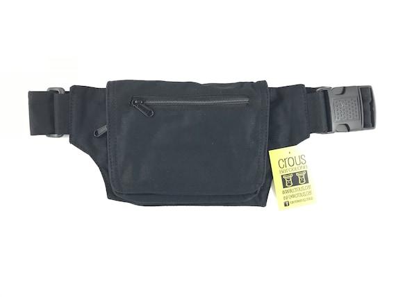 Unisex PouchShoulder bagpouch or bag Travel bag Hip Bag Holster bag Adjustable strap Cotton Canvas.