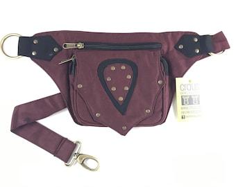 """Kidney/Bag/Faltriquera model """"BROTO"""" unisex. Travel bag. Hip Bag. Holster bag. Adjustable Strap. Cotton Canvas."""