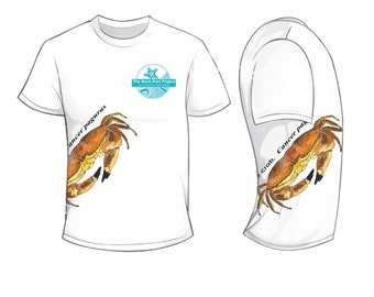 Edible crab - Rock Pool Project - Wildlife Spotters T Shirt