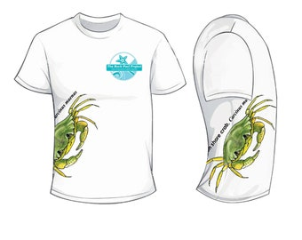 Shore crab- Rock Pool Project - Wildlife Spotters T Shirt