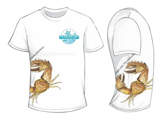 Broad-clawed porcelain crab - Rock Pool Project - Wildlife Spotters T Shirt