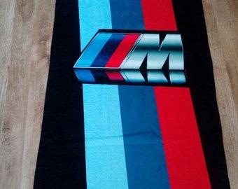 BMW M Power Beach Towel Bath Pool 140 x 70 cm 55 x 28inch
