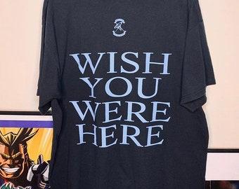 f1e24b93407d Vintage Pink Floyd Wish You Were Here Rock Rap Band Tee 90s Travis Scott  Houston Rockets size XL