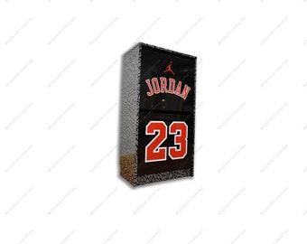 52ff47a6800996 Giant Air Jordan Jumpman Shoe Storage Cabinet Box