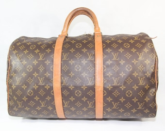 f9d64bac32c0 Authentic Used Louis Vuitton Monogram Keepall 50   Date Code  MB8911