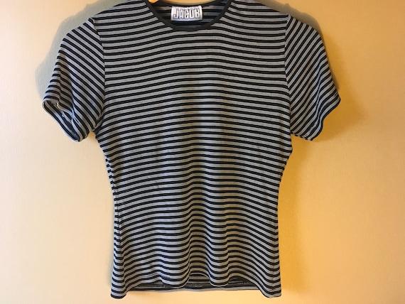 Vintage Y2K Striped Tshirt