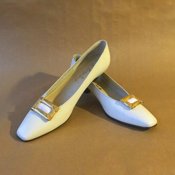 Sz 7.5 1960s DAVID EVINS Shoes