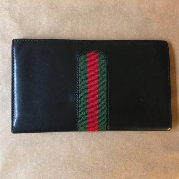 Vintage GUCCI Wallet with Stripe