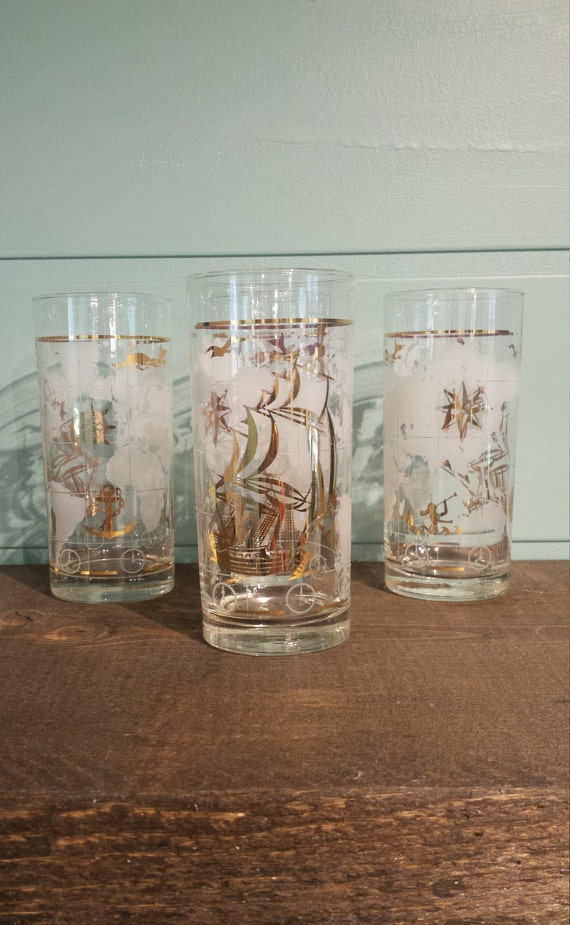 Nautical Glasses - World Glasses - MCM Glasses Set