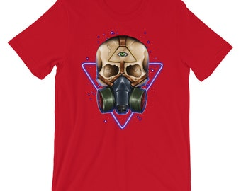 T-shirts Objective Ready To Change Diapers Dad To Be Gas Mask Mens T-shirt Tops & Tees