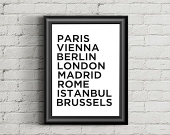Henry VII Europe Cities Poster, Paris Vi