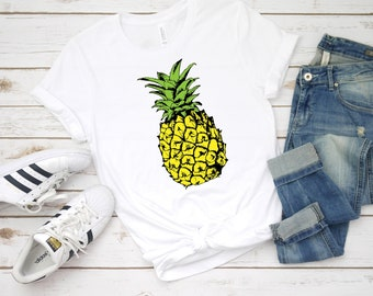 af958749 Pineapple Graphic Tee Women Gift