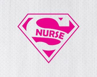Super Nurse Svg Etsy