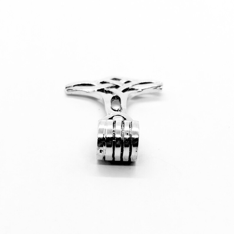 925 Sterling Silver Thor\u2019s Hammer Mjolnir Norse Viking Pendant Necklace  Solid  Quality KimnKim