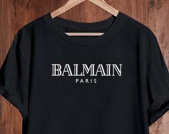 f98442e5d4 Balmain Tshirt Shirt T-shirt T Shirt, Balmain Paris Shirt, Balmain Mens  Womens Kids, Balmain Unisex Shirt, Balmain Inspired, Designer