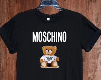 92aaf797 Moschino Kids Mens Womens Ladies Shirt, Moschino Bear Tshirt, Moschino T- shirt, Moschino Unisex Shirt, Moschino Inspired, Moschino