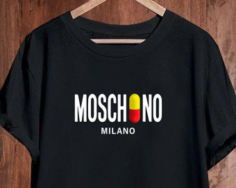 99d1abed Moschino Mens Womens Kids Ladies Shirt, Moschino Pill Tshirt, Moschino T- shirt, Moschino Unisex Shirt, Moschino Inspired, Moschino