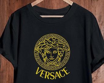 2f84bcad Versace T Shirt, Versace Medusa Shirt, Versace Mens Womens Kids T-shirt,  Versace Unisex Shirt, Versace Inspired, Designer Tshirt, Luxury