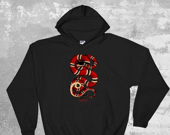 a4b1b9f9 Gucci Fat Snake Hoodie, Gucci Pullover, Gucci Unisex Hoodie, Gucci  Inspired, Gucci Sweatshirt, Designer Hoodie, Luxury Clothing, Gucci