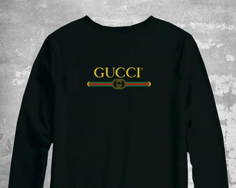 986ee7d4 Gucci Sweatshirt, Gucci Sweater, Gucci Unisex Kids Pullover, Gucci  Inspired, Gucci Crewneck, Luxury Sweater, Gucci Hoodie
