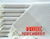 40x70 quot , Personalized Turkish Towel beach, beach towel, blanket, wedding gifts, personalized beach towel, bachelorette party decorations