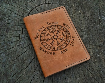 PasspotNotebook Wallet Travel wallet Leather wallet Card wallet Simple wallet