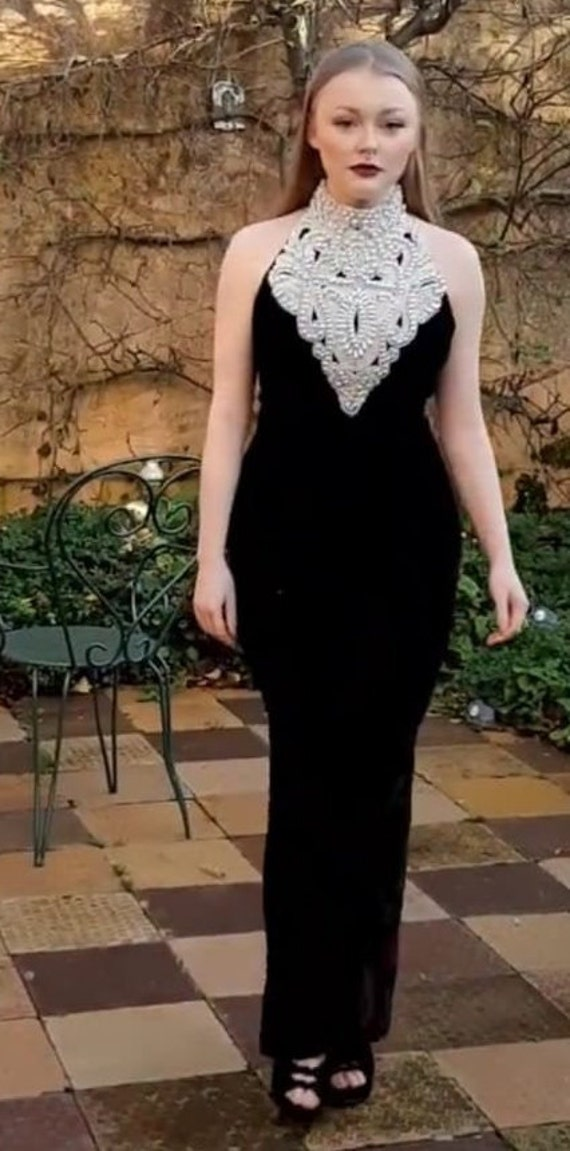 Authentic Black Cocktail Dress