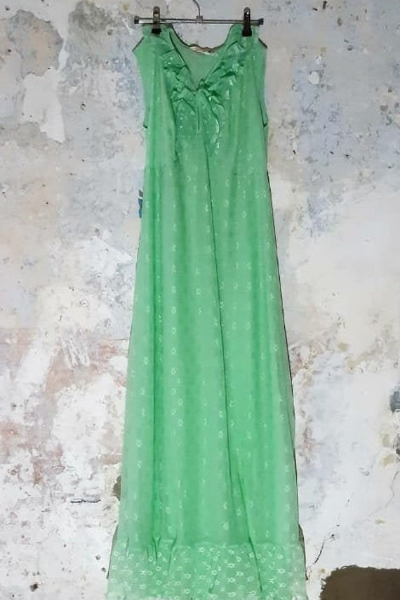 Gorgeous Green Dress/ Night Dress