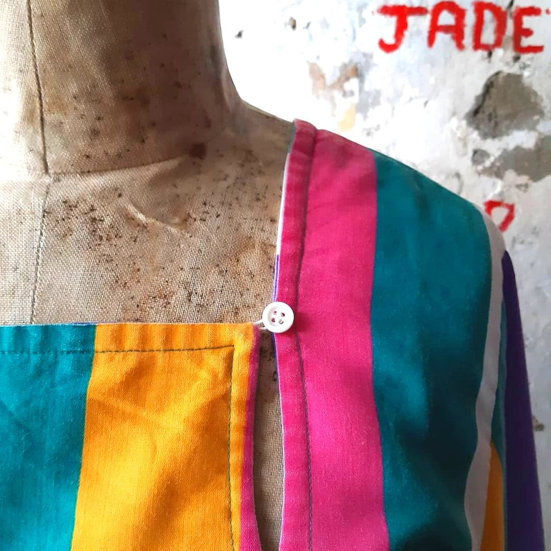Vintage 90s Colorful Costume