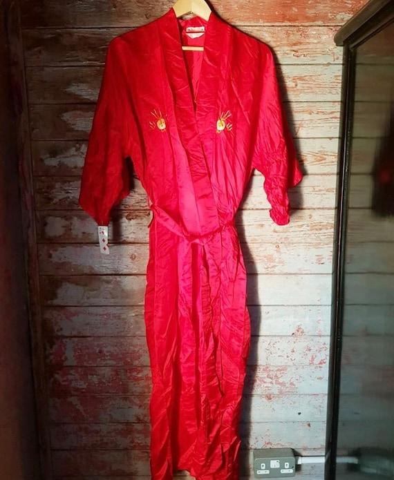 Soft Silk Dressing Gown