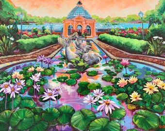 16x20 New Orleans Botanical Gardens Print -Limited Edition of 200