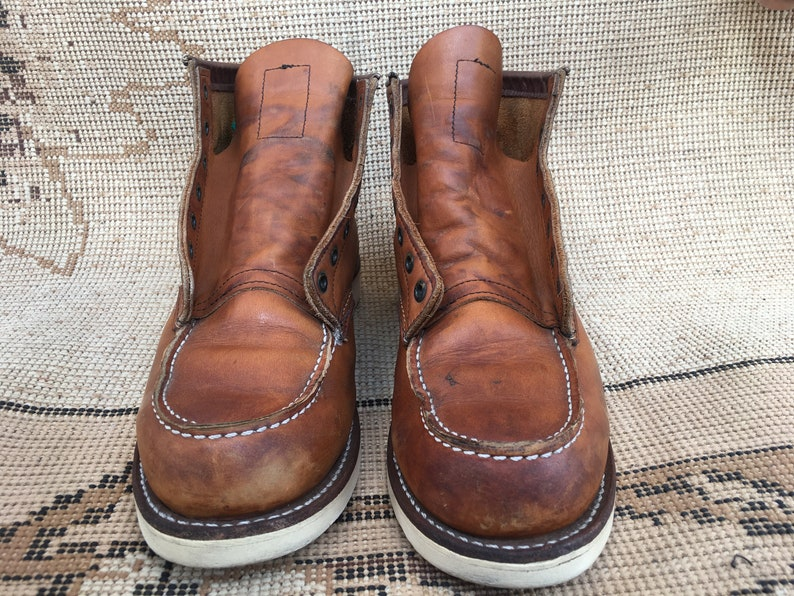 Red Wing Heritage 875 6-Inch Classic Moc Oro Legacy Men/'s Boots Sz 9 E