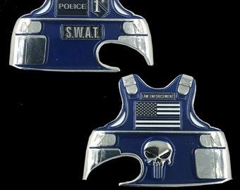 Police bottle opener | Etsy