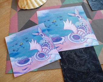 Ballad Of The Windfish   Zelda Fan Art, Link'S Awakening, Legend Of Zelda Illustration, Gamer Gift, Wall Art