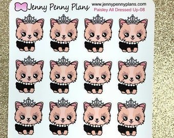 Paisley - All Dressed Up Planner Stickers.