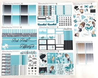 But First, Tiffany's Planner Stickers on Premium Matte