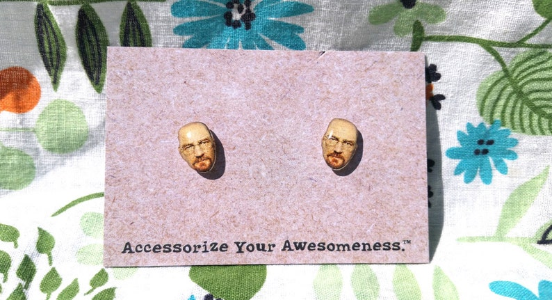 Heisenberg Earrings image 0