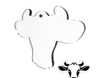 MDF Acrylic Blanks Key chain Pit Bull Head Chose from 5-500 pieces 1-5 Wood Laser cut shapes From Florida with Love