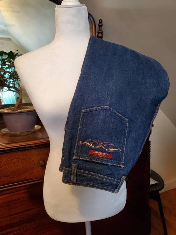 Vintage Jordache Horse Embroidered Indigo Jeans Si