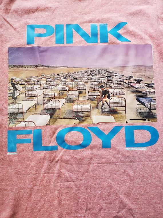RARE UNIQUE 70's/80s Pink Floyd Ringer T-Shirt