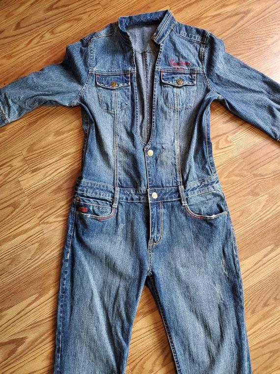 Vintage PePe Jeans Denim Jumpsuit/Romper / Vintage