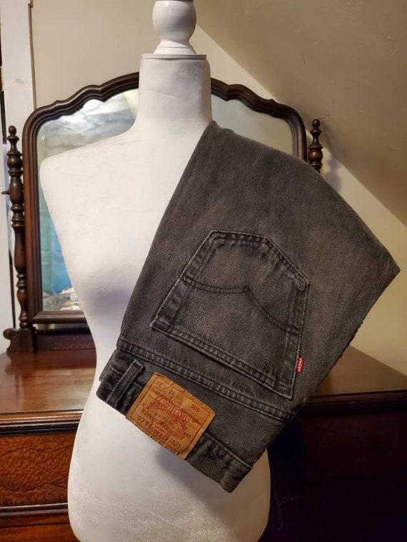 Vintage Black Levi's 501 Jeans Size 30/31x30.75 /