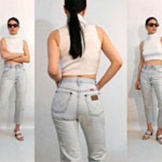 Wrangler Ultra Light Wash Jeans 25x25.5 / Vintage