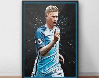 sports shoes 5b0d7 1d55f Kevin de bruyne | Etsy