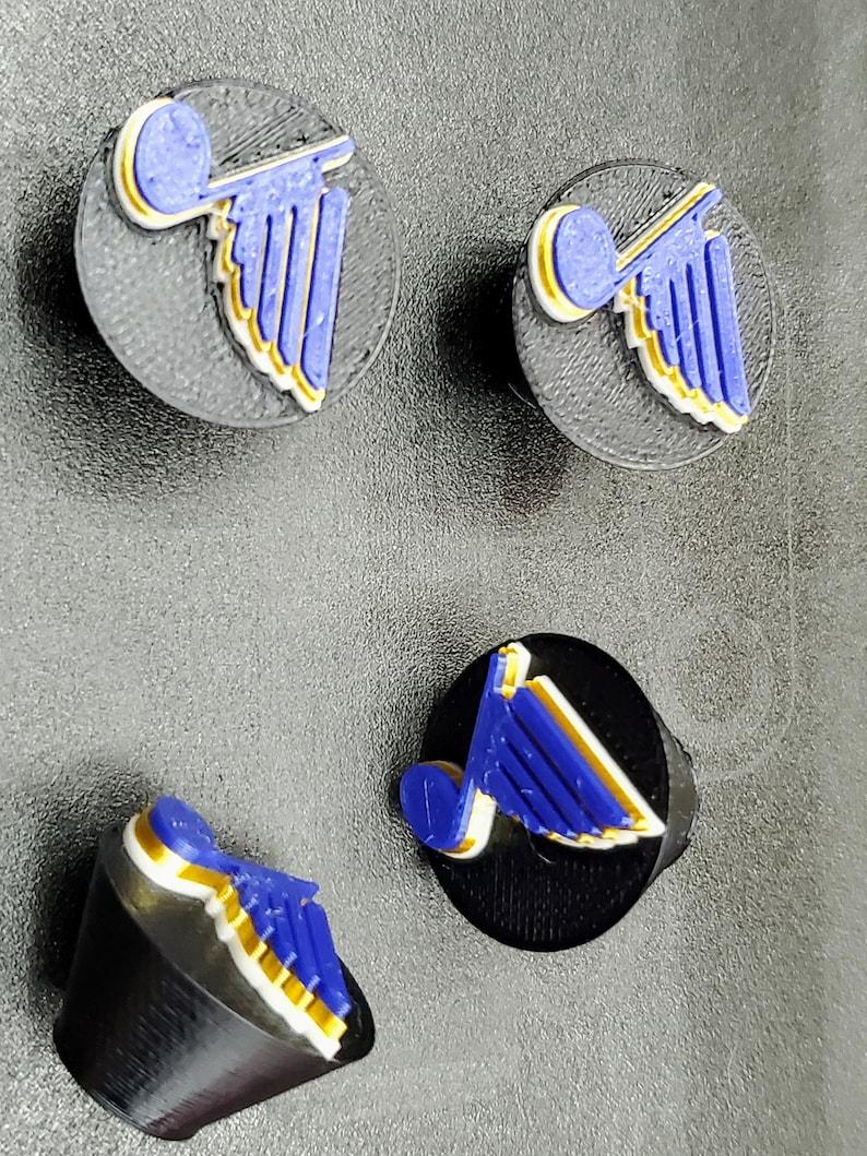 St. Louis Blues valve caps image 0