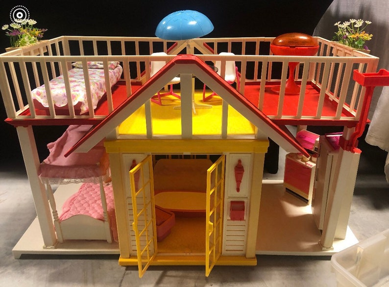 1982 Barbie Dream Cottage Furniture Accessories Immaculate No image 0