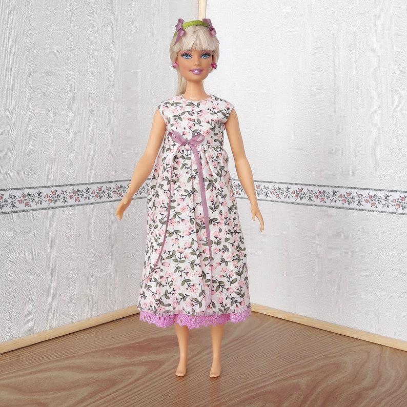 Handmade clothing Skirt for 1:6 scale doll Barbie Blythe # D-13