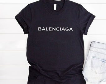 f751bdebf5a1 Balenciaga Logo Shirt, Balenciaga Mens Womens Youth T Shirt, Balenciaga  Inspired, Balenciaga T-shirt, Streetwear