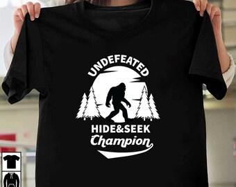 fc573988 Undefeated hide and seek champion, hide seek svg,sasquatch shirt, champion  svg, undefeated svg, undefeated champion, bigfoot shirt,